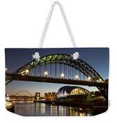 Tyne Bridge Weekender Tote Bag