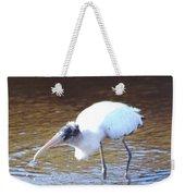 Wood Stork Weekender Tote Bag