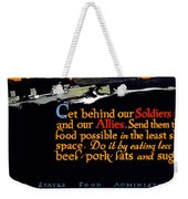 Wwi Food Supply, 1917 Weekender Tote Bag