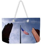 911 Tribute At Winslow Arizona Weekender Tote Bag