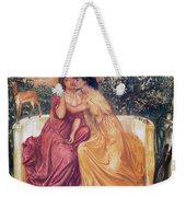 Sappho And Erinna In A Garden Weekender Tote Bag