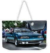 92 Mustang Gt Weekender Tote Bag