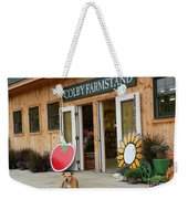 #923 D720 Colby Farm Stand Weekender Tote Bag