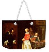 The Suitors Visit Weekender Tote Bag