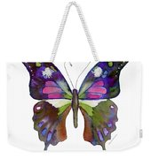 98 Graphium Weiskei Butterfly Weekender Tote Bag
