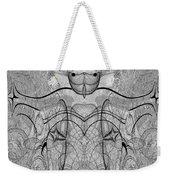 989 - Giant Creature Fractal ... Weekender Tote Bag