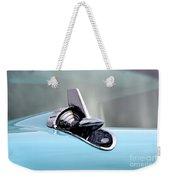 57 Chevy Detail Weekender Tote Bag