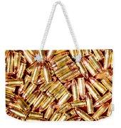 9mm Brass Ammo Weekender Tote Bag