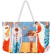 9th Century Artwork Weekender Tote Bag