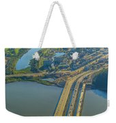 Fort Mcmurray From The Sky Weekender Tote Bag