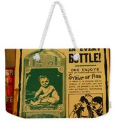 A Baby In Every Bottle Weekender Tote Bag