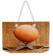 A Balanced Meal Weekender Tote Bag