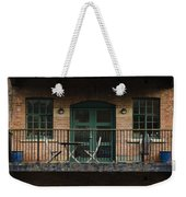 A Balcony On The River Aire Weekender Tote Bag
