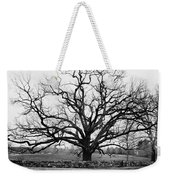 A Bare Oak Tree Weekender Tote Bag