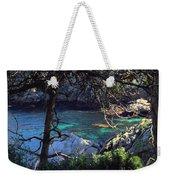 A Beautiful Cove At Point Lobos Weekender Tote Bag