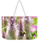 A Bee's Work Is Never Done Abwndwc Weekender Tote Bag