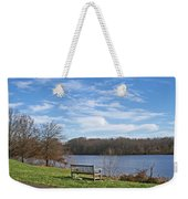A Bench With A View Weekender Tote Bag