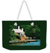 A Cottage In Bermuda # 1 Weekender Tote Bag