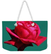 A Big Red Rose Weekender Tote Bag