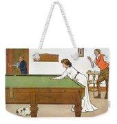 A Billiards Match Weekender Tote Bag