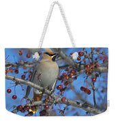A Bird For Its Crest.. Weekender Tote Bag
