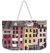 A Bird's Eye View Of Cinque Terre Weekender Tote Bag