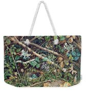 A Birds Nest Among Brambles Weekender Tote Bag