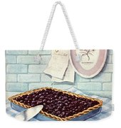 A Blueberry Tart Weekender Tote Bag