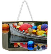 A Boat Full Of Color Weekender Tote Bag