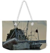A Boat Named Cyclone Weekender Tote Bag