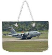 A Boeing C-17 Globemaster IIi Weekender Tote Bag