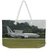A Boeing E-7a Wedgetail Of The Royal Weekender Tote Bag