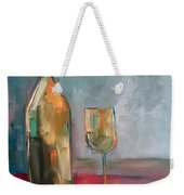 A Bottle Of White... Weekender Tote Bag