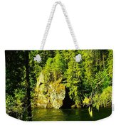 A Boulder Across The Seleway River  Weekender Tote Bag