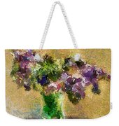 A Bouquet Of Lilac Weekender Tote Bag