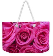A Bouquet Of Pink Roses Weekender Tote Bag