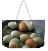 A Bowl Of Eggs Weekender Tote Bag