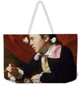 A Boy With A Flying Squirrel. Henry Pelham Weekender Tote Bag
