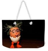 A Brave Eggman. Easter People Series Weekender Tote Bag