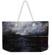 A Break In The Skyline Weekender Tote Bag by Frances Marino