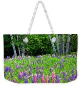 A Breathless Moment Among Lupine Weekender Tote Bag