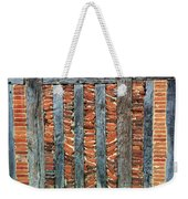 A Brick Wall Design Weekender Tote Bag