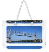 A Bridge Opening Weekender Tote Bag