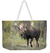 A Bull Moose Named Gaston Weekender Tote Bag