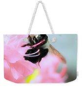 Bumble Bee And Azalea Weekender Tote Bag