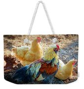 A Bunch Of Chickens Weekender Tote Bag