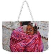 A Bundle Buggy Swaddle - Peru Impression IIi Weekender Tote Bag by Xueling Zou