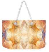 A Burst Of Light Abstract Living Artwork By Omaste Witkowski Weekender Tote Bag