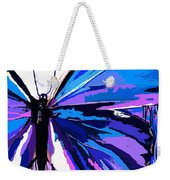 A Butterfly So Blue Weekender Tote Bag