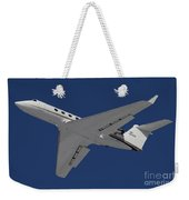 A C-20 Gulfstream Jet In Flight Weekender Tote Bag
